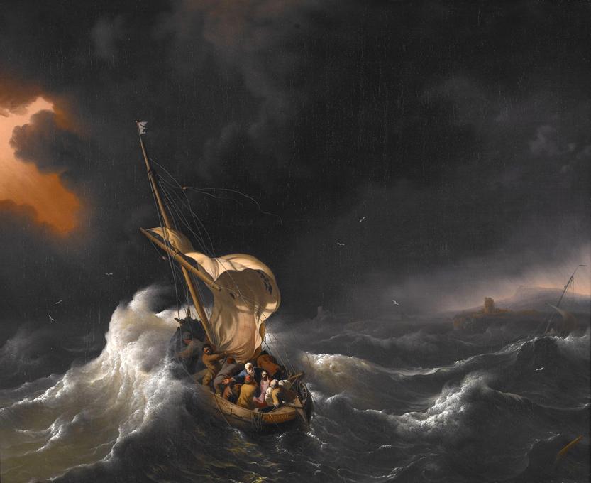 Christ in the storm Faith