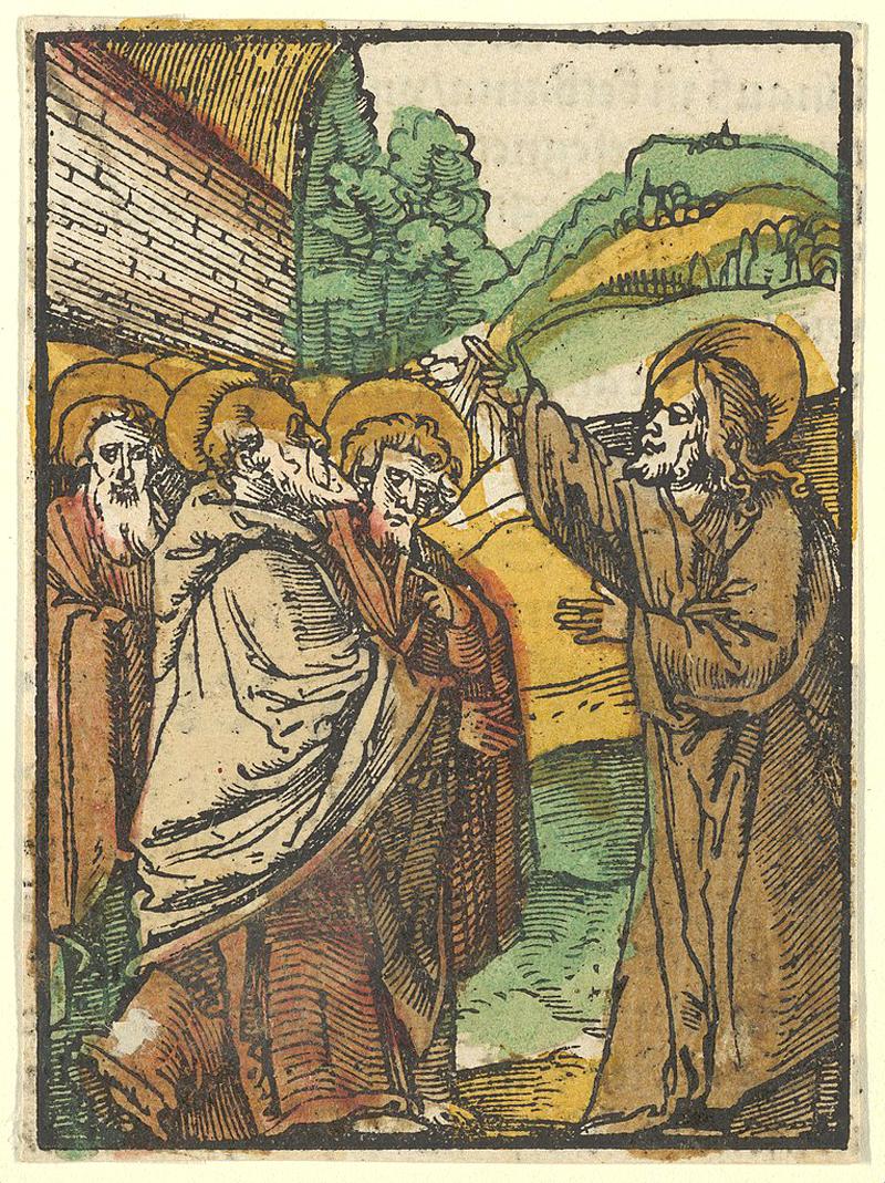 Jesus Teaching the Disciples resurrection