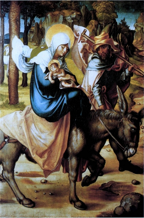 Christ Flees to Egypt