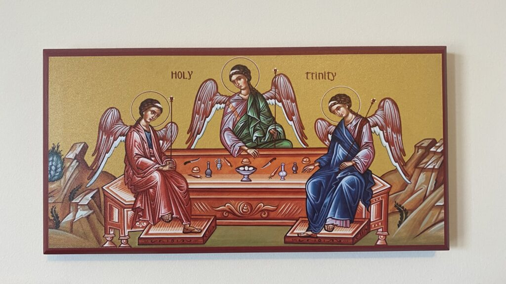 The Holy Trinity - Father, Son and Holy Spirit
